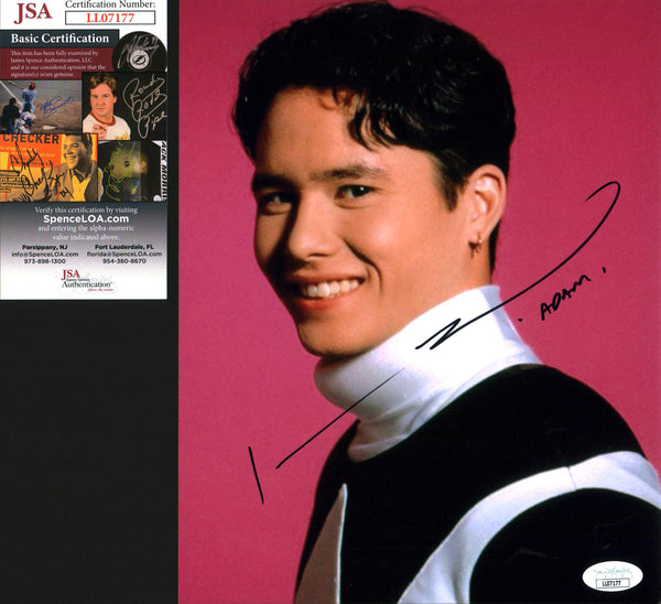 Johnny Yong Bosch Power Rangers 8x10 Photo Signed Autographed JSA Certified COA GalaxyCon