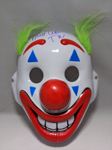 Joker Mask JSA Certified Signed by Brett Cullen GalaxyCon