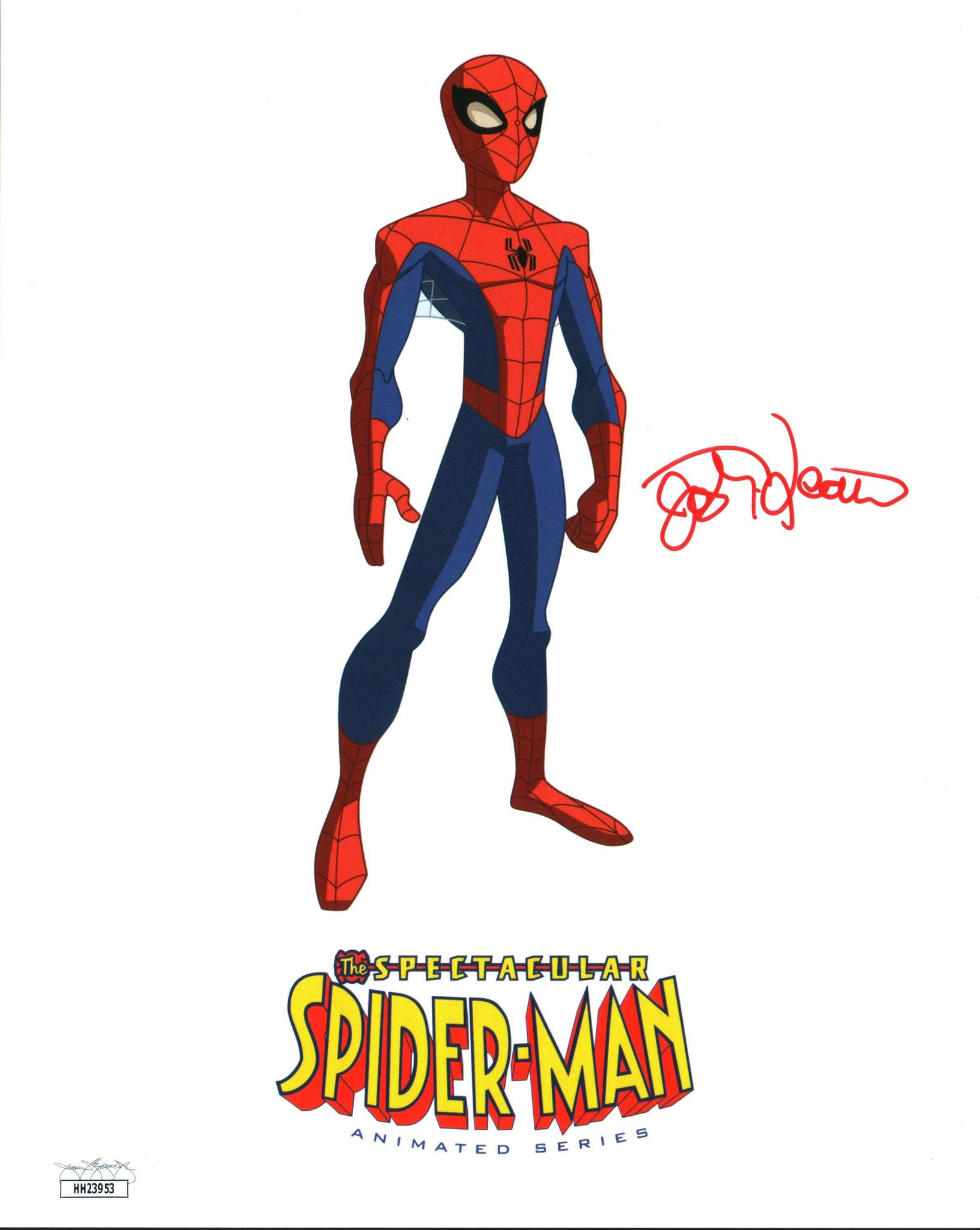Josh Keaton SpiderMan 8x10 Photo Signed Autographed JSA Certified COA GalaxyCon