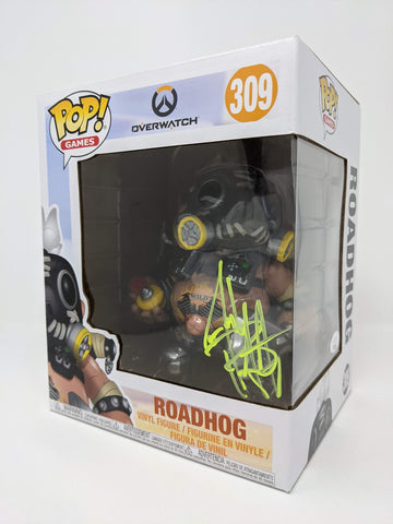 Josh Petersdorf Overwatch Roadhog #309 Signed JSA Funko Pop GalaxyCon