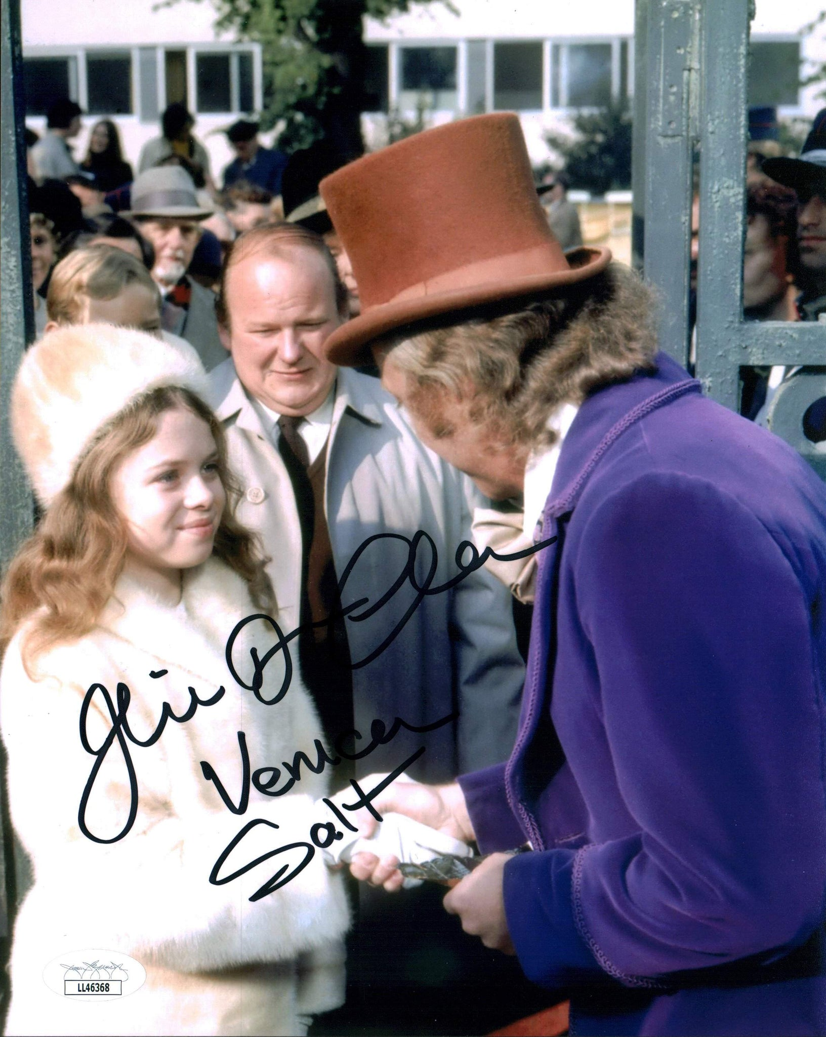 Julie Dawn Cole Willy Wonka 8x10 Photo Signed Autograph JSA Certified COA Auto GalaxyCon