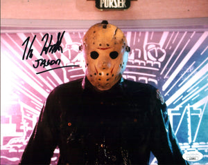 Kane Hodder Friday the 13th 8x10 Photo Signed Autograph JSA Certified COA Auto GalaxyCon