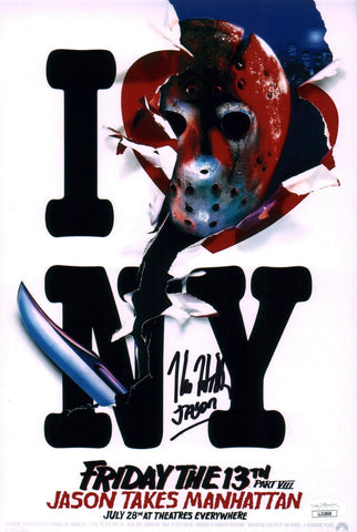 Kane Hodder Friday the 13th 8x12 Photo Signed Autograph JSA Certified COA Auto GalaxyCon