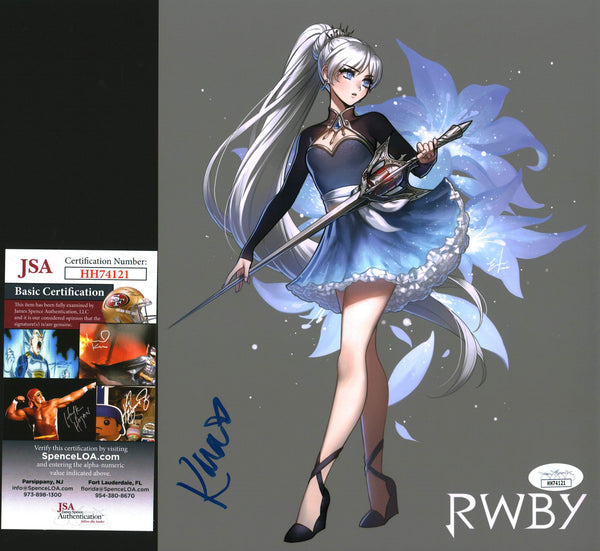 Kara Eberle RWBY 8x10 Photo Signed Autographed JSA Certified COA GalaxyCon