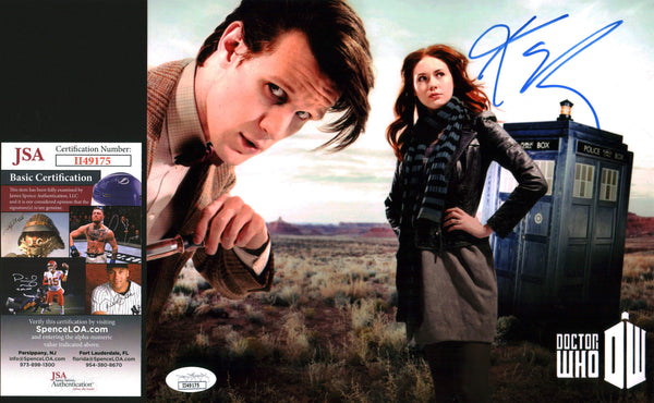 Karen Gillan Doctor Who 8x10 Photo Signed Autographed JSA Certified COA GalaxyCon
