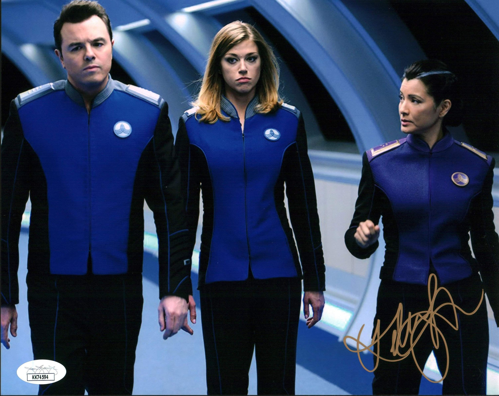 Kelly Hu The Orville 8x10 Photo Signed Autographed JSA Certified COA GalaxyCon