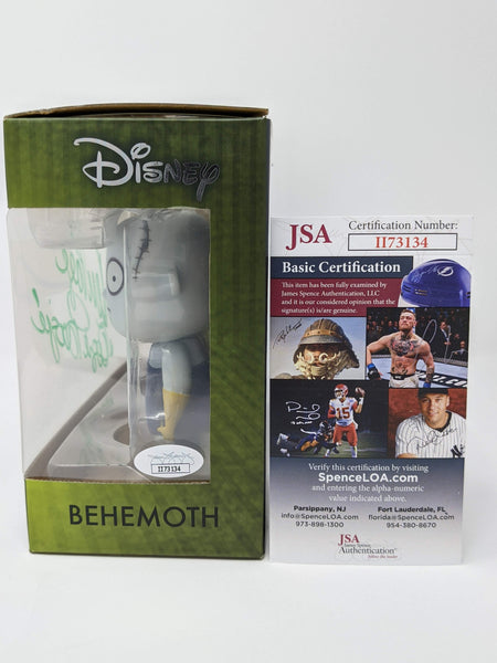 Ken Page Disney Nightmare Before Christmas Oogie Boogie Behemoth Signed JSA Funko Vynl GalaxyCon