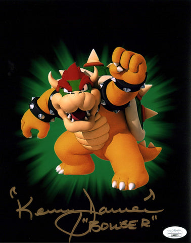 Kenny James Super Mario Bowser 8x10 Photo Signed Autographed JSA Certified COA GalaxyCon