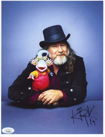 Kirk Thatcher Muppets 8x10 Photo Signed Autographed JSA Certified COA GalaxyCon