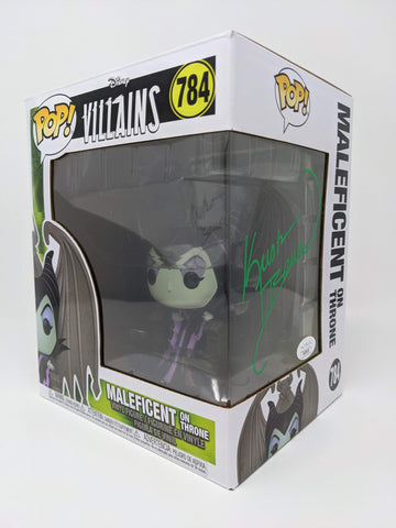 Kristin Bauer Disney Villains Maleficent on Throne #784 Signed JSA Funko Pop OUAT GalaxyCon