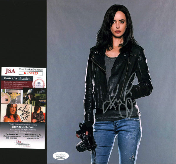 Krysten Ritter Jessica Jones 8x10 Photo Signed Autographed JSA Certified COA GalaxyCon