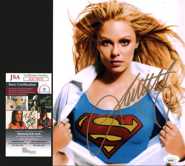 Laura Vandervoort Smallville 8x10 Photo Signed Autograph JSA Certified COA Auto GalaxyCon