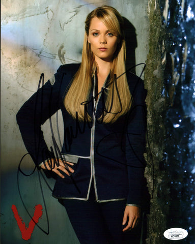 Laura Vandervoort V 8x10 Photo Signed Autograph JSA Certified COA Auto GalaxyCon