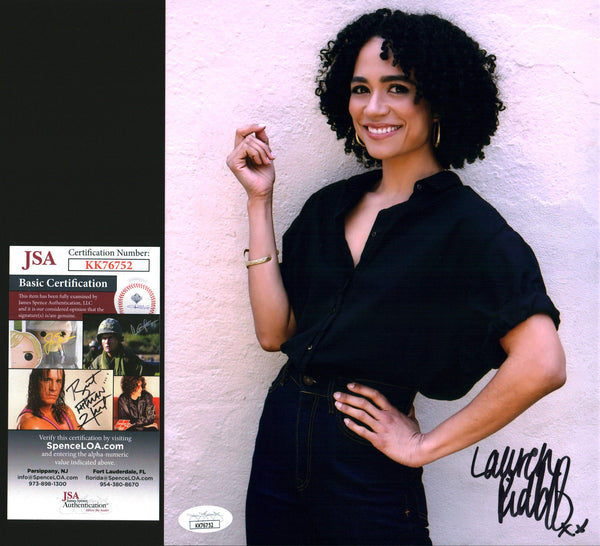 Lauren Ridloff 8x10 Photo Signed Autograph JSA Certified COA Auto GalaxyCon