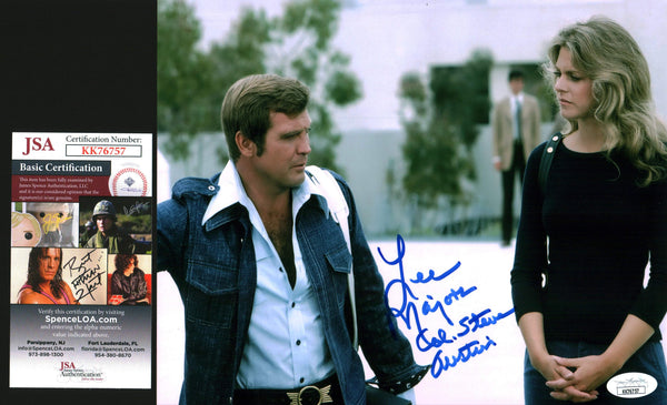 Lee Majors Six Million Dollar Man 8x10 Photo Signed Autograph JSA Certified COA Auto GalaxyCon