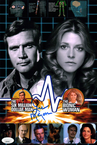 Lee Majors Six Million Dollar Man 8x12 Photo Signed Autograph JSA Certified COA Auto GalaxyCon