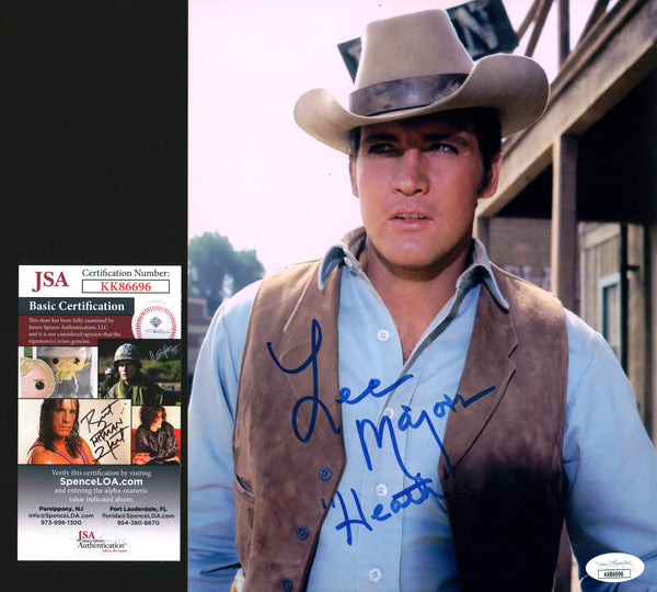Lee Majors The Big Valley 8x10 Photo Signed Autograph JSA Certified COA Auto GalaxyCon