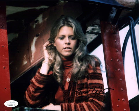 Lindsay Wagner Bionic Woman 8x10 Photo Signed Autograph JSA Certified COA Auto GalaxyCon