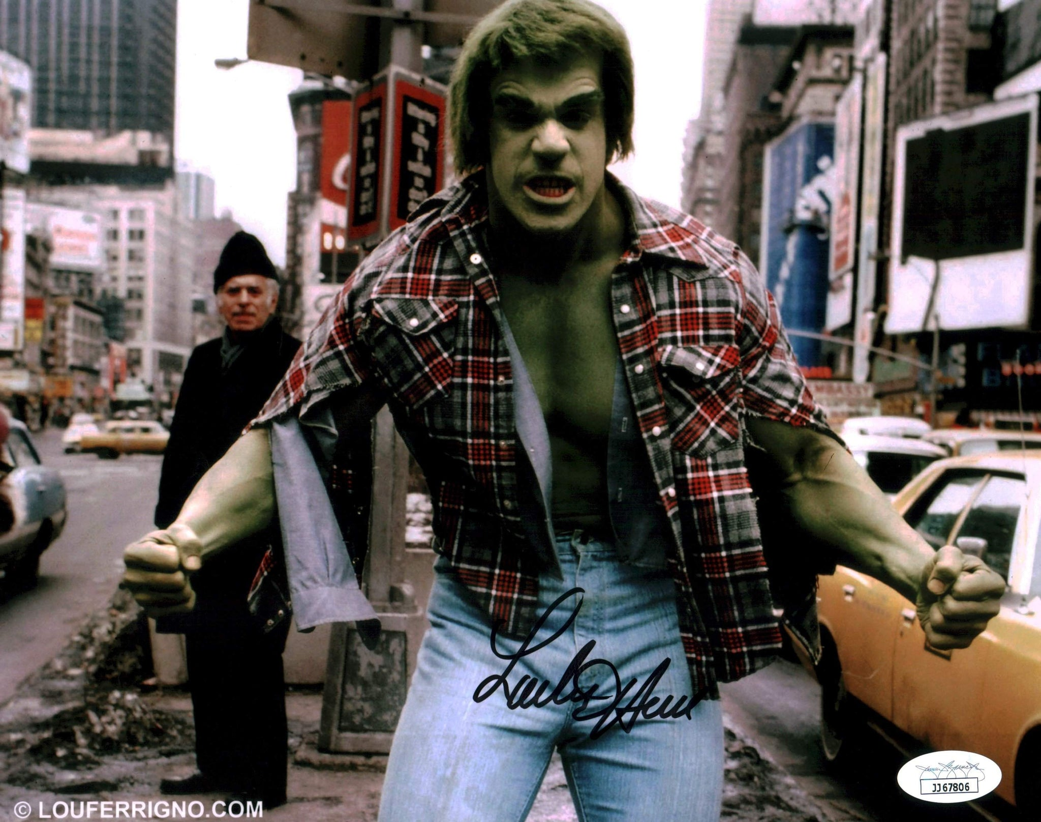 Lou Ferrigno The Hulk 8x10 Photo Signed Autographed JSA Certified COA GalaxyCon