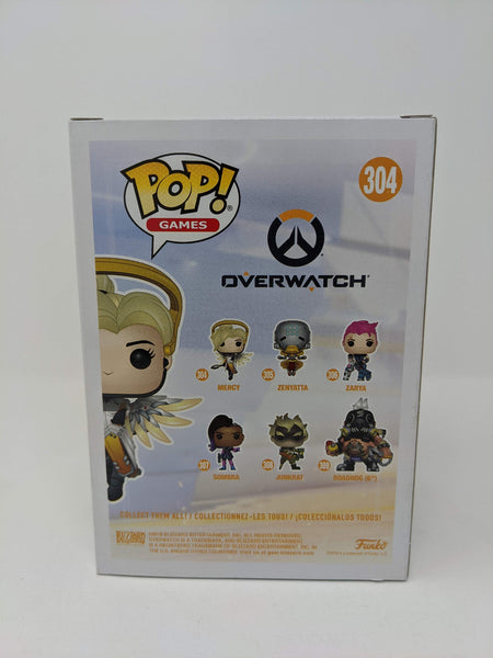 Lucie Pohl Overwatch Mercy #304 Signed JSA Funko Pop Auto GalaxyCon