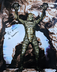 Ricou Browning Creature from the Black Lagoon 16x20 Photo Poster Signed Autograph JSA Certified COA Auto