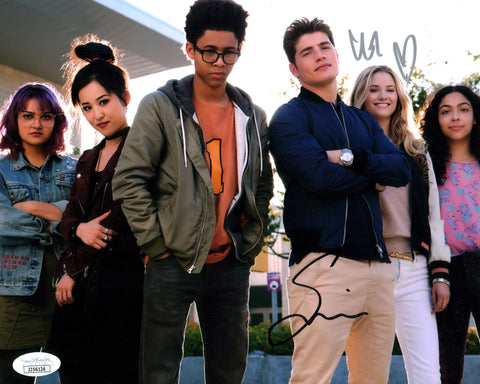 Marvel's Runaways 8x10 Photo Signed Autograph Sulkin Gardner JSA Certified COA GalaxyCon