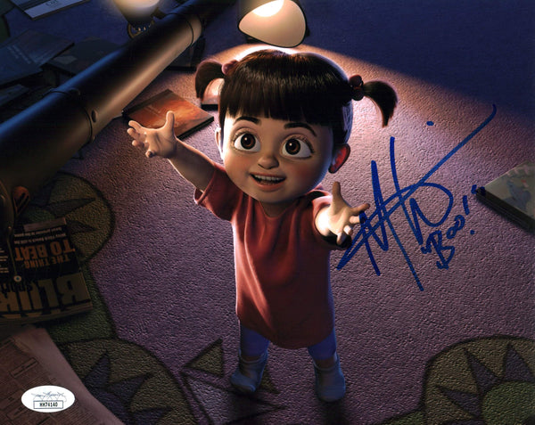 Mary Gibbs Monsters Inc 8x10 Photo Signed Autographed JSA Certified COA GalaxyCon