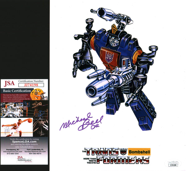 Michael Bell Transformers 8x10 Photo Signed Autographed JSA Certified COA GalaxyCon