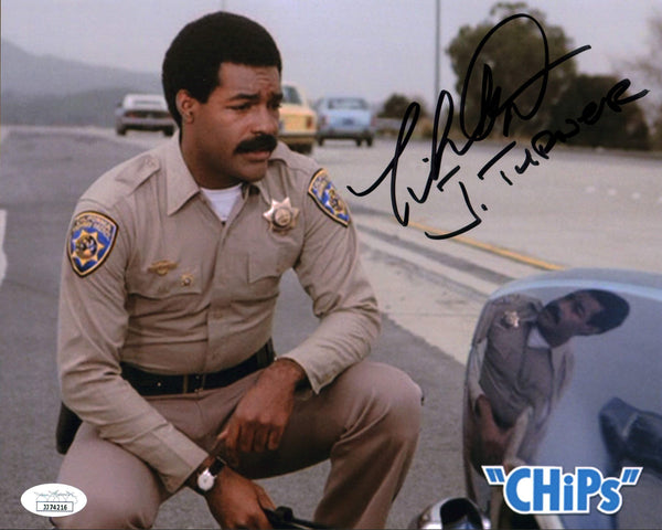 Michael Dorn CHiPs 8x10 Photo Signed Autograph JSA Certified COA Auto GalaxyCon