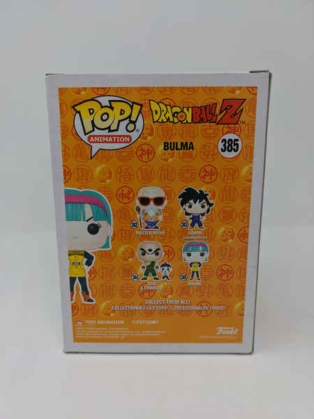 Monica Rial Dragon Ball Z Bulma #385 Signed JSA Funko Pop GalaxyCon