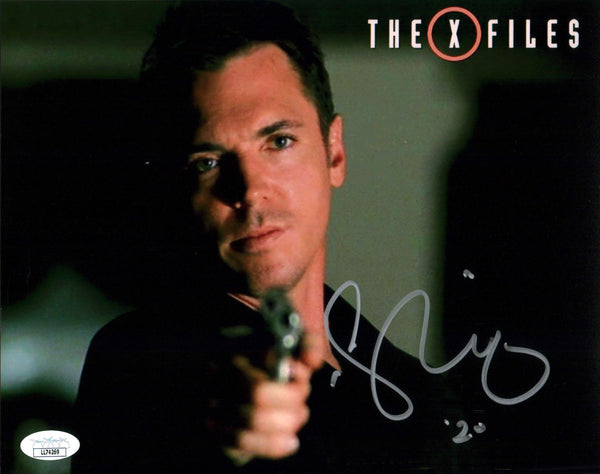Nicholas Lea The X Files 8x10 Photo Signed Autograph JSA Certified COA Auto GalaxyCon