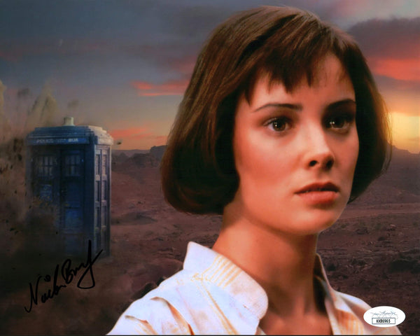 Nicola Bryant Doctor Who 8x10 Photo Signed Autograph JSA Certified COA Auto GalaxyCon