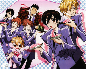 Ouran Host Club 8x10 Photo JSA Certified COA Signed by Caitlin Glass GalaxyCon