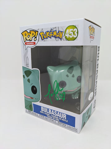 Tara Sands Pokemon Bulbasaur #453 Signed JSA Funko Pop Auto