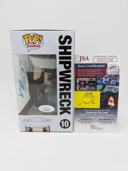 Neil Ross GI Joe Shipwreck #10 Signed JSA Funko Pop Auto