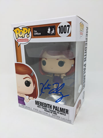Kate Flannery The Office Meredith Palmer #1007 Signed JSA Funko Pop Auto
