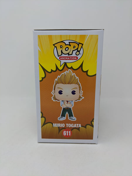 Ricco Fajardo My Hero Academia Mirio Togata #611 Exclusive Signed JSA Funko Pop