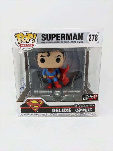 Brandon Routh DC Collection Superman #278 Exclusive Deluxe Signed JSA Funko Pop