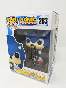 Roger Craig Smith Sonic the Hedgehog with Ring #283 Signed JSA Funko Pop Auto