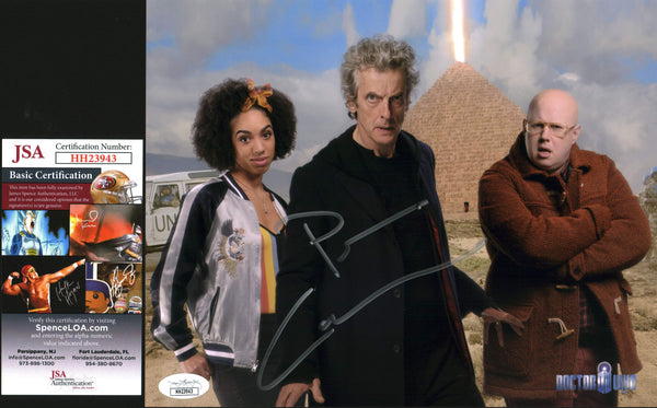Peter Capaldi Doctor Who 8x10 Photo Signed Autographed JSA Certified COA GalaxyCon