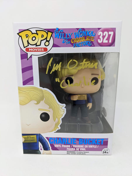 Peter Ostrum Willy Wonka Charlie Bucket #327 Signed JSA Funko Pop Auto GalaxyCon