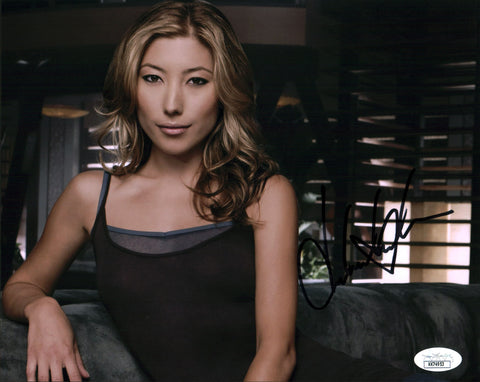Dichen Lachman Dollhouse 8x10 Photo Signed Autograph JSA Certified COA Auto