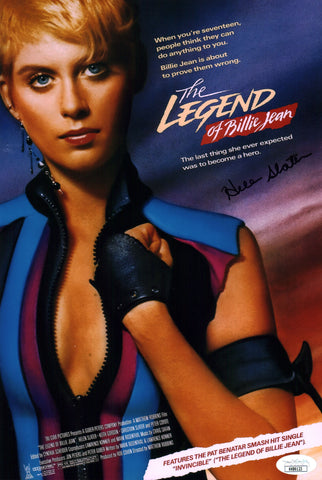 Helen Slater Legend of Billie Jean 8x12 Photo Signed Autograph JSA Certified COA Auto
