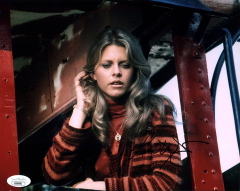 Lindsay Wagner Bionic Woman 8x10 Photo Signed Autograph JSA Certified COA Auto
