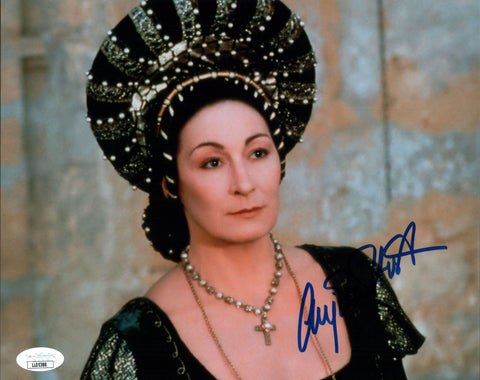 Anjelica Huston Ever After 8x10 Photo Signed Autograph JSA Certified COA Auto