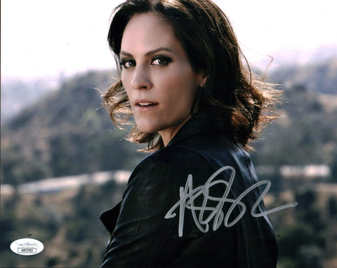 Annabeth Gish The X Files 8x10 Photo Signed Autograph JSA Certified COA Auto