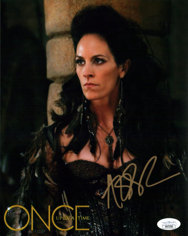 Annabeth Gish Once Upon a Time 8x10 Photo Signed Autograph JSA Certified COA Auto