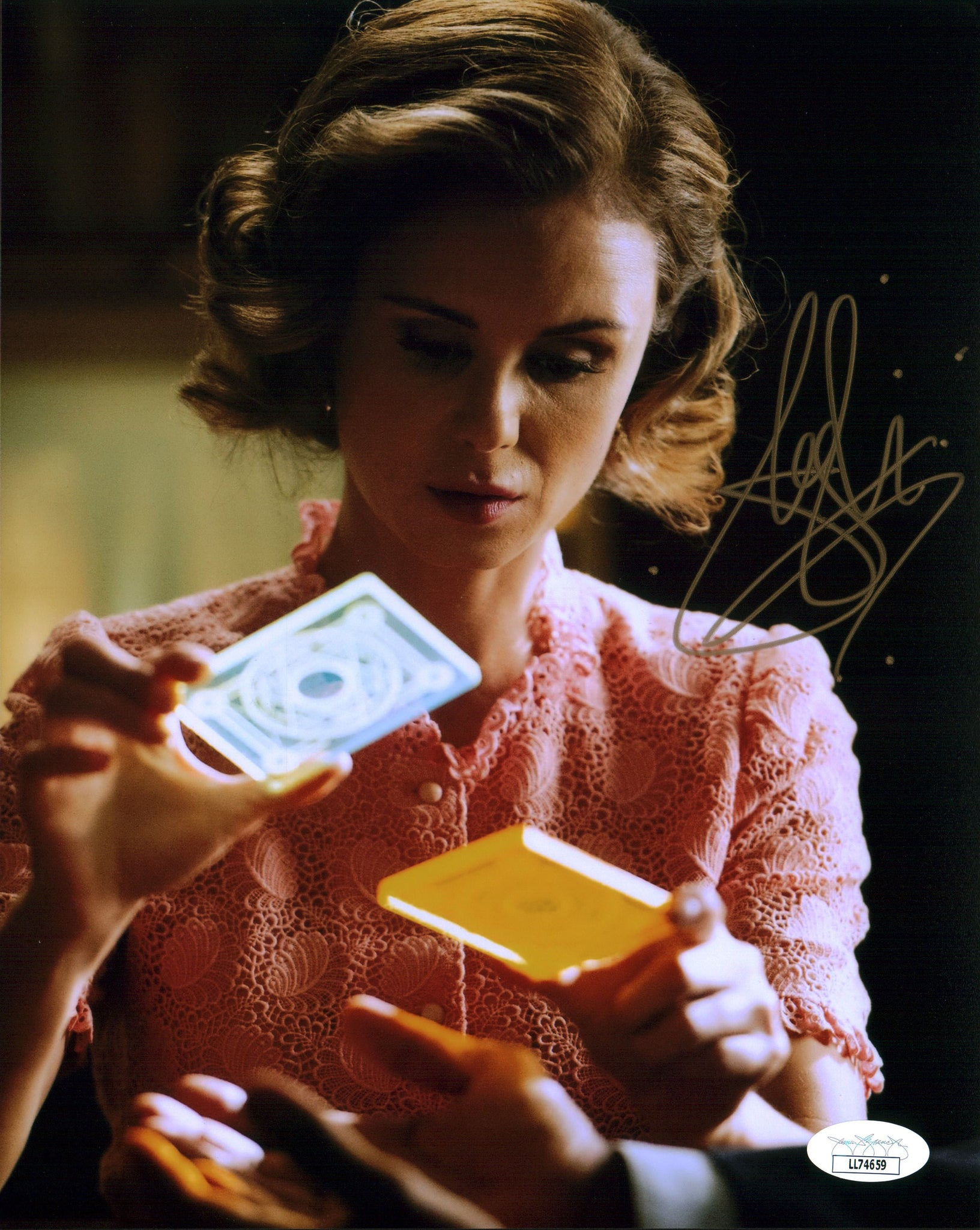 Keegan Connor Tracy The Magicians 8x10 Photo Signed Autograph JSA Certified COA Auto