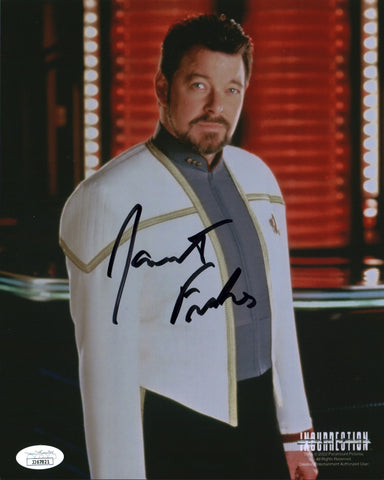 Jonathan Frakes Star Trek 8x10 Photo Signed Autograph JSA Certified COA Auto