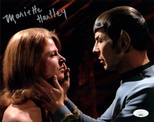 Mariette Hartley Star Trek 8x10 Photo Signed Autograph JSA Certified COA Auto